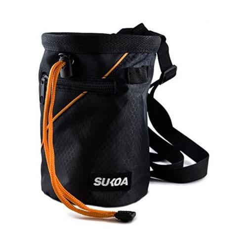 Sukoa Quick-Clip Belt Chalk Bag