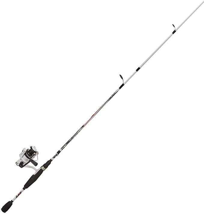 Abu Garcia Ike Dude Bass Rod And Reel Combo