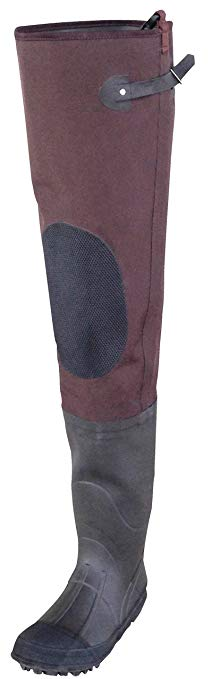Caddis Men's 2 Ply Rubber Hip Waders