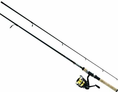Daiwa D-Shock Crappie Rod And Reel Combo