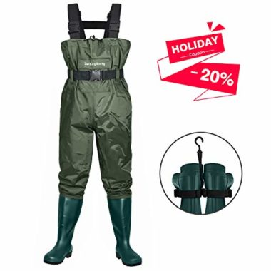 Dark Lightning Fly Fishing Women's Waders