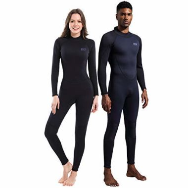 Dark Lightning Premium CR Neoprene Surfing Wetsuit