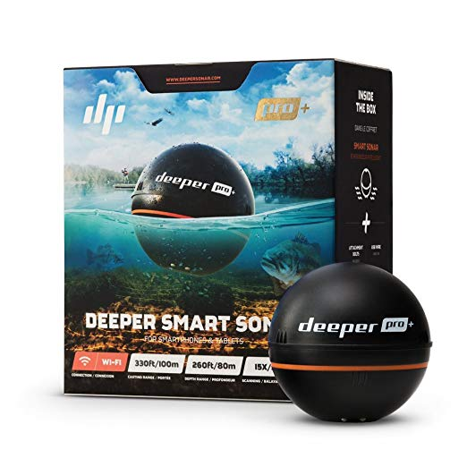 Deeper PRO+ Castable Fish Finder