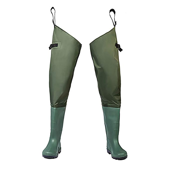 FishingSir KeepDry Men's Hip Waders