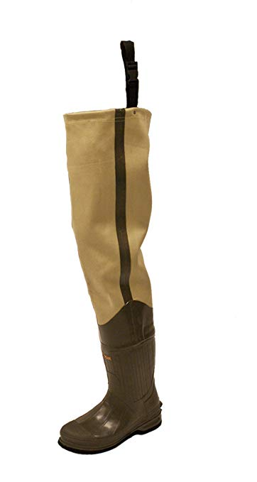 Frogg Toggs Bull Frogg 3-ply Canvas Bootfoot Hip Waders