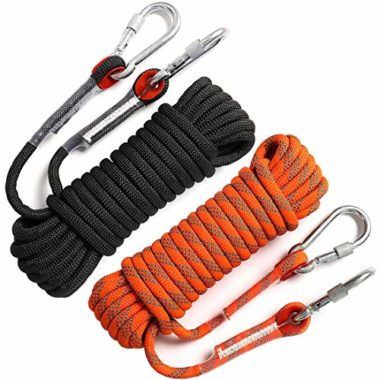 GINEE Outdoor Static Climbing Rope