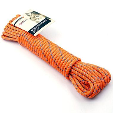 GM CLIMBING 8mm Double Braid Climbing Rope