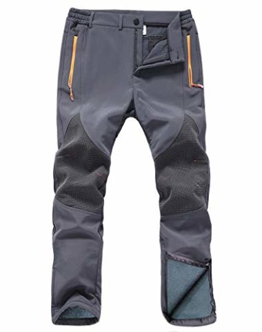 Gash Hao Men's Waterproof Softshell Mountaineering Pants