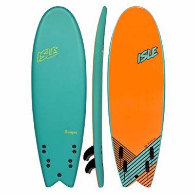 "ISLE Thumper 5'11"" Soft Top Beginner Surfboard"