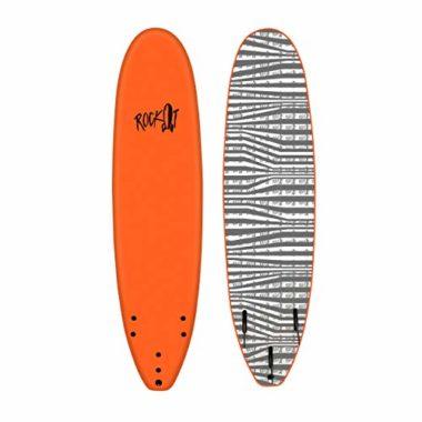Rock It 7′ SHORTBUS Soft Top Beginner Surfboard