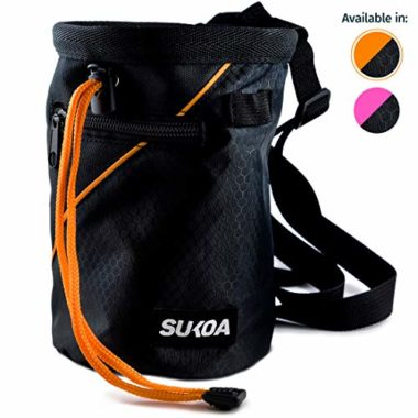 Sukoa Quick-Clip Belt Chalk Bag