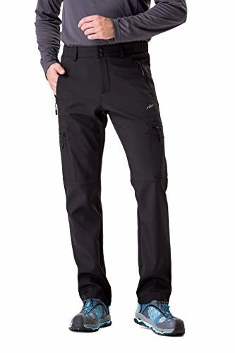 TRAILSIDE SUPPLY CO. Men's Insulated Softshell Mountaineering Pants