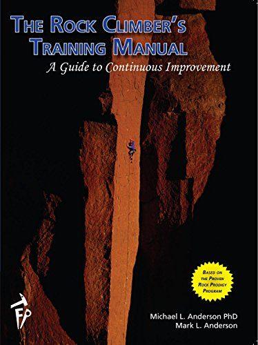 """""""The Rock Climber's Training Manual"""" Climbing Book"""