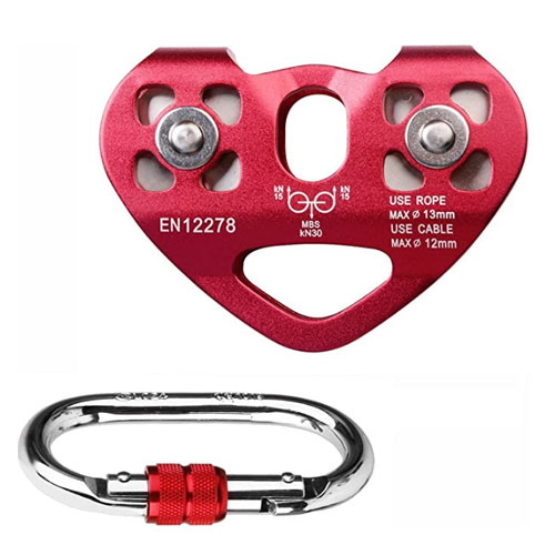 Pasway Tandem Dual Speed Climbing Pulley