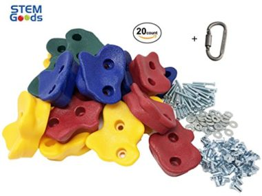 STEM Goods Premium Large Textured Kids Rock Climbing Holds