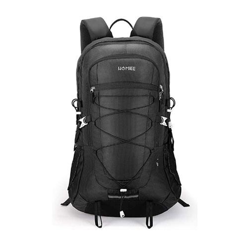 HOMIEE 45L Lightweight Waterproof Climbing Backpack