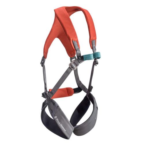 Black Diamond Momentum Full Body Kids Climbing Harness