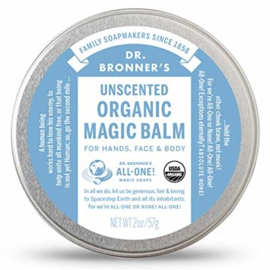 Dr. Bronner's Beeswax and Hemp Organic Magic Climbing Salve