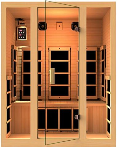 JNH Lifestyles Joyous 3 Person Infrared Sauna