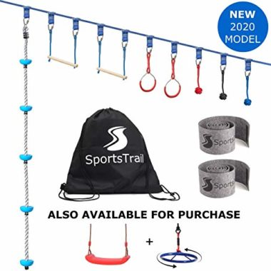 SportsTrail Ninja Obstacle Course Slackline