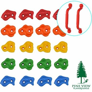 Pine View Playgrounds Premium Rock Climbing Holds