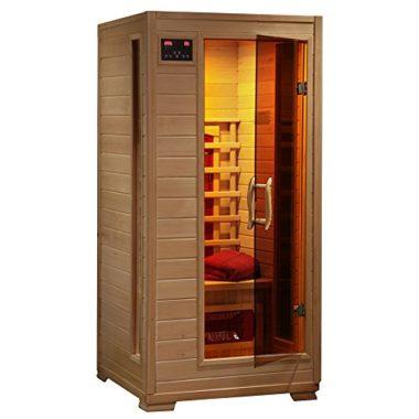 Radiant Saunas Ceramic Slim 1 Person Infrared Sauna