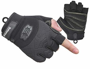 Seibertron Half Finger Padded Palm Climbing Gloves