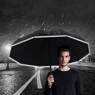 Actor StormProof Compact Travel Umbrella