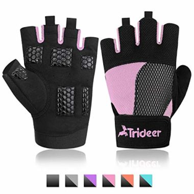 Trideer Breathable Climbing Gloves