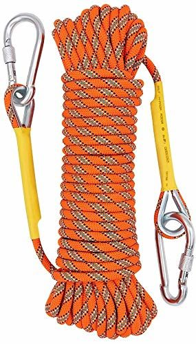 X XBEN Static Rock Outdoor Climbing Rope