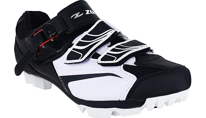 Zol White Indoor MTB Shoes