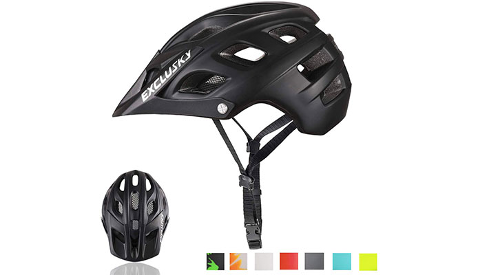 Exclusky MTB CPSC Certified Women's Mountain Bike Helmet