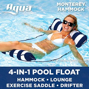 Aqua 4-In-1 Monterey Hammock Pool Float