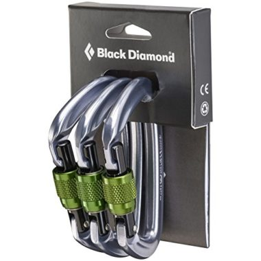 Black Diamond Positron Screwgate Locking Carabiners