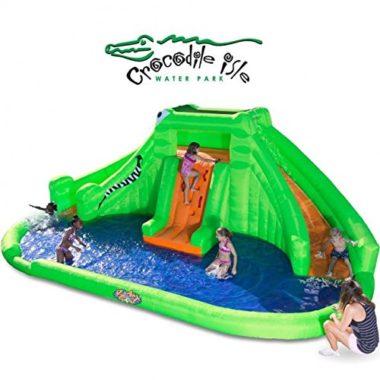 Blast Zone Crocodile Isle Kids Inflatable Pool