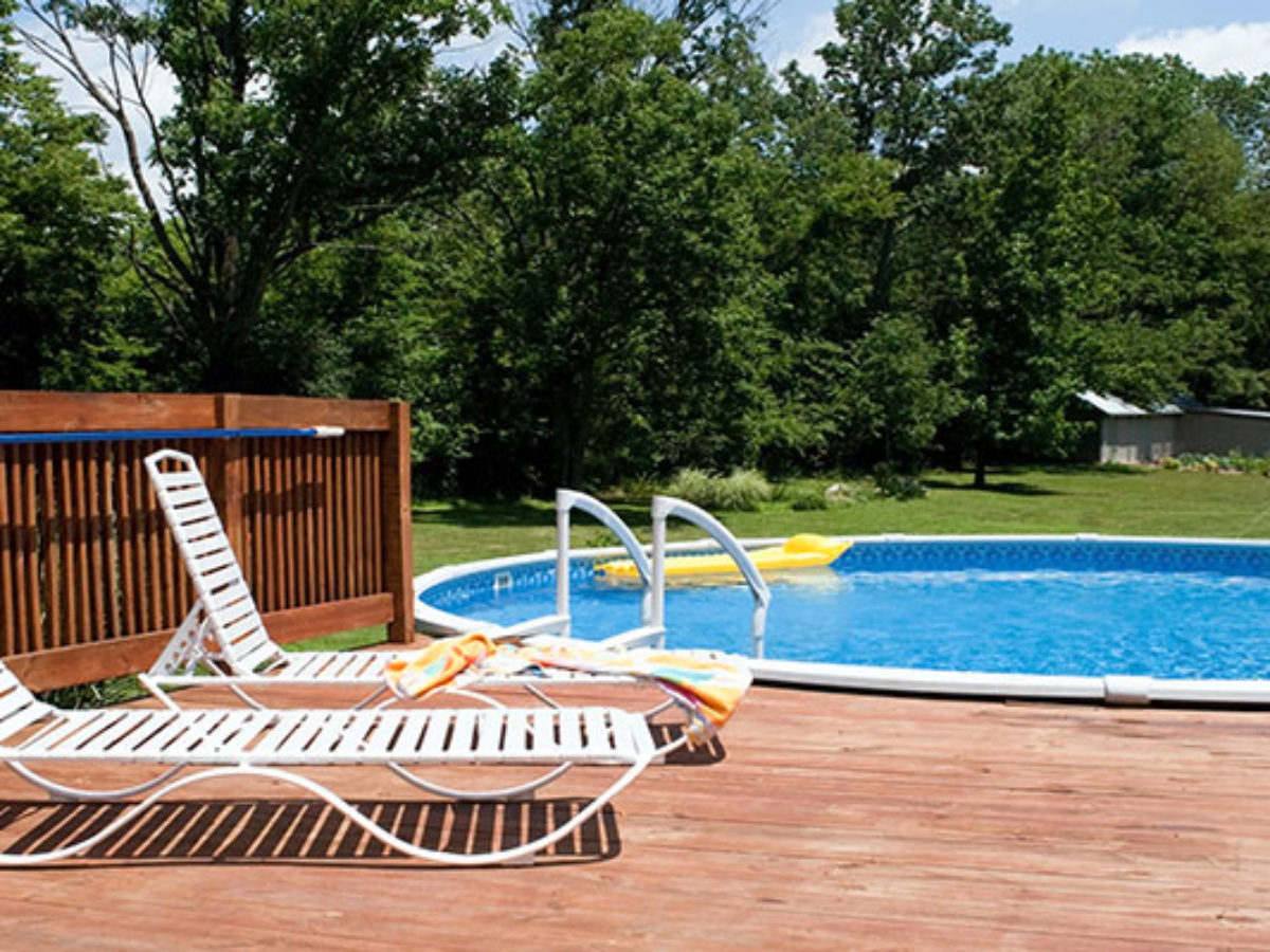 To Build An Above Ground Pool Deck, How To Build A Floating Deck Around An Above Ground Pool