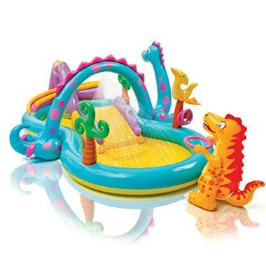 Intex Dinoland Play Center Kids Inflatable Pool