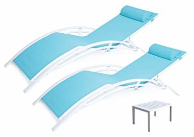 Kozyard KozyLounge Elegant Pool Lounge Chair