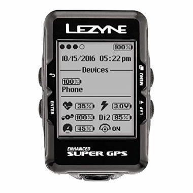 Lezyne Enhanced Super Gps Bike Computer