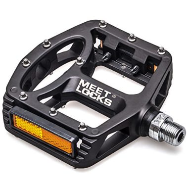 MEETLOCKS Injection Magnesium Alloy Mountain Bike Flat Pedals