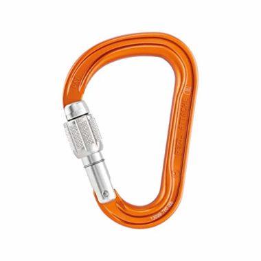 Petzl Attache Lightweight Screw Climbing Locking Carabiner