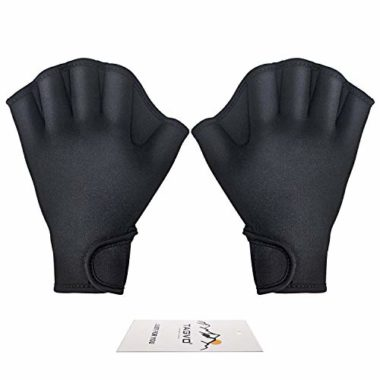 Tavgo Aquatic Fitness Water Resistance Swimming Gloves