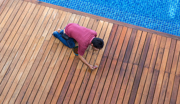 How To Paint A Pool Deck An 8 Step Guide Globo Surf