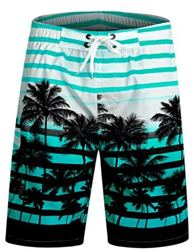 APTRO Long Palm Beach Men's Swim Trunks