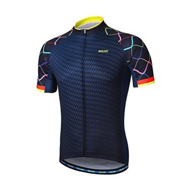 Arsuxeo Men's Short Sleeve Cycling Jersey