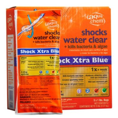 Aqua Chem Xtra Blue Pool Shock