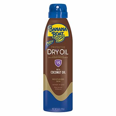 Banana Boat Sunscreen Ultra Mist Spray Tanning Oil