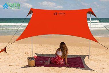 HappySummer Sunshade Beach Canopy