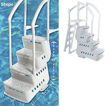 BiltMor Above Ground Step and Pool Ladder