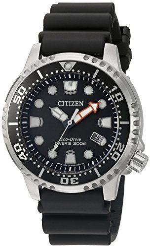 Citizen Promaster Diver Analog Japanese Quartz Black Dive Watch